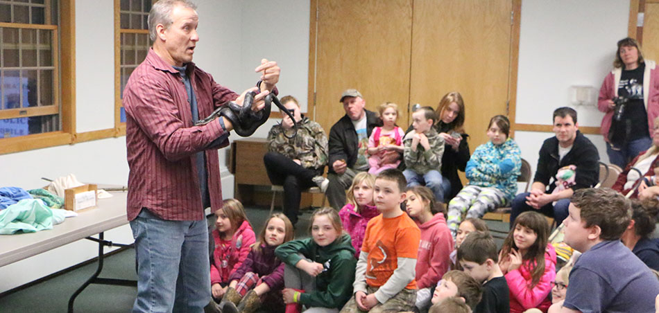 Snakes Alive at Indian River Library